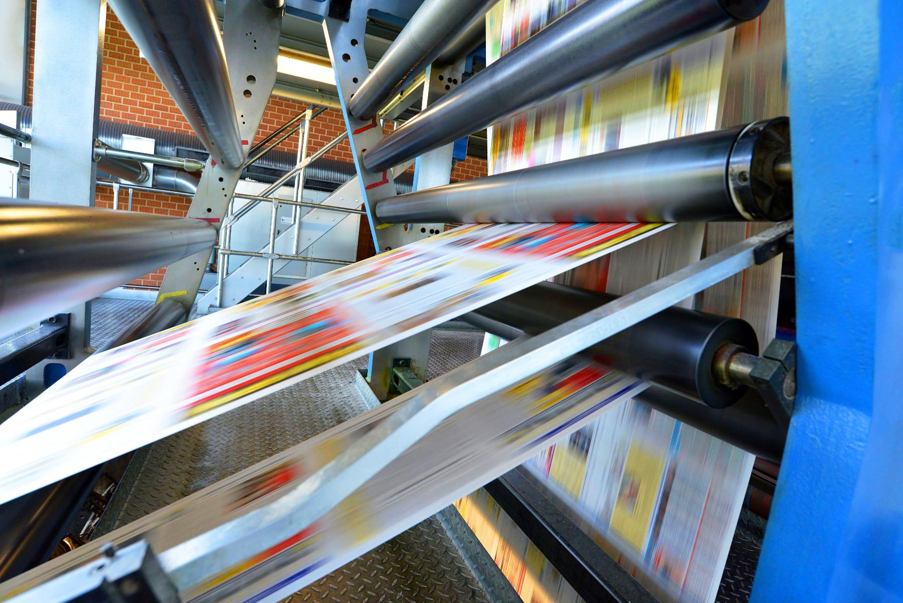 Printing Press Photo